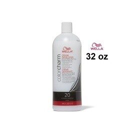 Wella Colorcharm Cream Developer Volume 20, 32oz