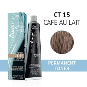 Wella Colortango CT 15 Café Au Lait Permanent Haircolor